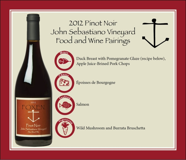 jseb food and wine pairing